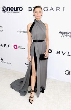 Angela Sarafyan in August Getty | Elton John Oscar Party 2017