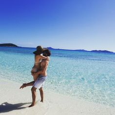 Couple travel photo in Coron Islands, Palawan, Philippines