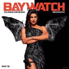Here's the brand new poster of #Baywatch featuring #PriyankaChopra. Share your thoughts about this look...
