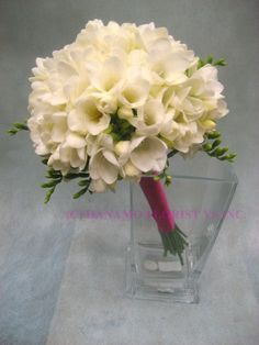 Freesia Wedding Bouquets | ... and also depending on the amount of the flowers used for the bouquet