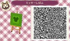 Animal Crossing QR Code - Flag/Sign