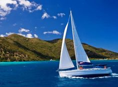 Sailing in the British Virgin Islands is awesome
