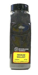 scale model railroad trains woodland scenics track ballast medium cinders 1383 - Categoria: Avisos Clasificados Gratis  Item Condition: NewHO Scale Woodland Scenics Track Ballast Medium Cinders # 1383 Brand new in original shaker bottle We are authorized dealers for Woodland Scenics products Thank you for your interest!Caution This product contains tree nut by products Click this link to see our other Woodland Scenics ballast productsClick this link to see our seller policies for more…