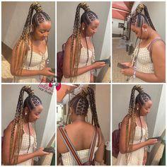 Stitch Braids, Chain, Hair Styles, Beauty, Fashion, Hair Plait Styles, Moda, Fashion Styles, Necklaces