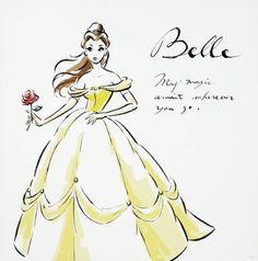 Belle- may magic await wherever you go :)