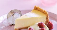 Smooth, creamy and with a hint of vanilla - this classic cheesecake is hard to beat.