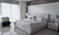 All white room