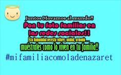 #mifamiliacomoladenazaret