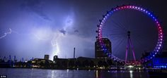 Storms on the day of the royal baby's birth