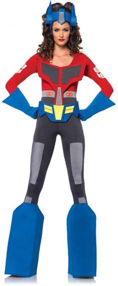 Sexy Optimus Prime Costume