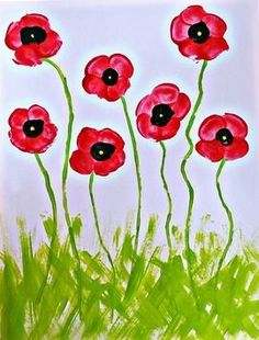 The most inspiring Remembrance Day poppy craft ideas for kids Poppy Craft For Kids, Art For Kids, Cheap Fall Crafts For Kids, Remembrance Day Poppy, Fingerprint Crafts, Footprint Crafts, Sunflower Crafts, Spring Art Projects, Handprint Art