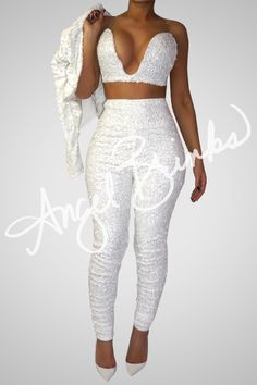 Glisten Set (White) | Shop Angel Brinks on Angel Brinks