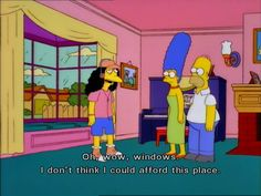 My apartment has one...hoping to upgrade sometime... The 100 Best Classic Simpsons Quotes