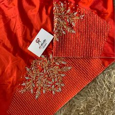 Hand Work Blouse Design, Simple Blouse Designs, Stylish Blouse Design, Fancy Blouse Designs, Blouse Neck Designs, Sleeve Designs, Hand Work Design, Blouse Styles, Wedding Saree Blouse Designs
