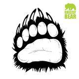 Illustration about Vector illustration of bear paw. Illustration of grizzly, bear, graphic - 27351731 Bear Paw Tattoos, Art D'ours, Bear Footprint, Bear Paw Print, Tattoo Foto, Bear Vector, Native American Symbols, Bear Illustration, Bear Claws
