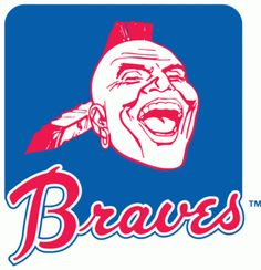 Atlanta Braves accessories are the main topic of this website. Every single MLB baseball team offers tons of various merchandises to meet fan's. Mlb Team Logos, Mlb Teams, Sports Teams, Sports Logos, Sports Apparel, Sports Art, Best Logos Ever, Atlanta Braves Logo, American Football