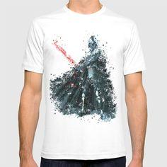 Darth Vader, Star . Wars, Black and White, Watercolor...