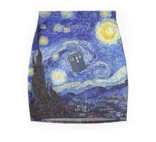 'A Starry Night Van Gogh Mountain Inspiration With Tardis' by Angelinas Tardis, Van Gogh, Night, Mini Skirt, Artwork, Inspiration, Products, Biblical Inspiration, Work Of Art