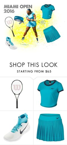 """Miami Open 2016 Serena Williams"" by tennisexpress on Polyvore"