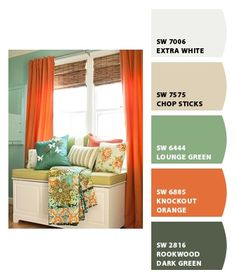 Living Room.  Paint colors from Chip It! by Sherwin-Williams