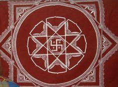 Aipen Design, Traditional Art, indian Art, Kumaon Art.