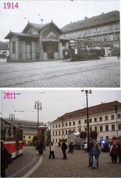 Nové Město, Náměstí Republiky 1 - Foto a koláž: Václav Víšek