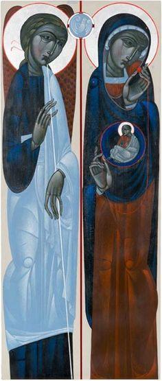 Annunciation - Contemporary by Ostap Łoziński