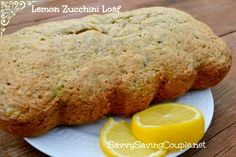 Lemon Zucchini Loaf Recipe