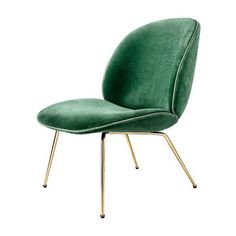 Beetle Lounge Stol Velour/Messing