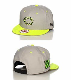 This is the New Era 9FIFTY Cincinnati Reds Snapback in the Cool Grey   Volt- 6ad454b48ee