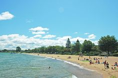 Clinch Beach; Courtesy of Traverse City Tourism