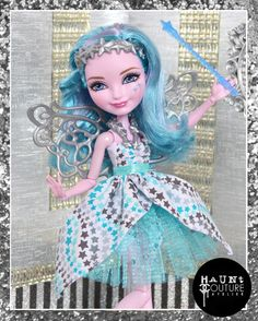 Ever After High Doll Winged Wishes royal by HauntCoutureAtelier