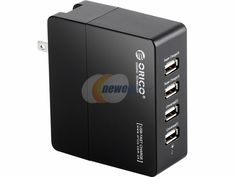 ORICO DCX-4U 5V7Amps 35W 4 Port Smart USB Wall Charger with 2x 5V2.4A Super Charger and 2x 5V1A Wall Charger for iPad Air Mini, iPhone, Galaxy Note 3 2 S5 S4 & Most USB-charged devices http://zingxoom.com/d/cwHHJ7KA