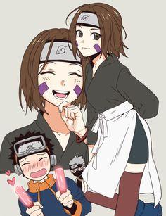 Obito e rin Anime Naruto, Manga Anime, Naruto Shippuden Anime, Sarada Uchiha, Narusaku, Naruto Art, Hinata, Sasuke, Naruto Family