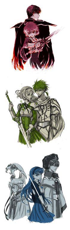Magic Knight Rayearth by mick347.deviantart.com on @DeviantArt