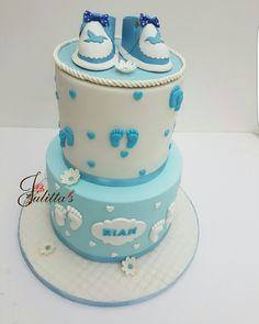 christening cake  / #itsbakedbyjulitta
