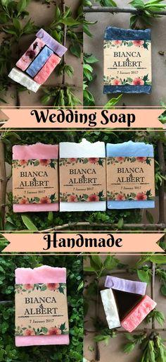 Wedding soap, wedding favor soap, wedding favours idea, bridal shower idea, rustic wedding, greenery wedding