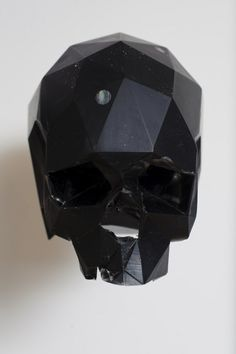 Faceted skull from Alejandro Jodorowsky's unmade 'Dune' movie.