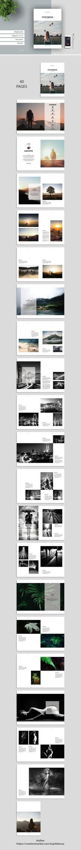 A5 Portfolio by tujuhbenua on @creativemarket Design Inspiration
