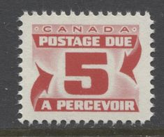 The good postage due stamp from the 1969 Issue. The key stamp of the series. Ultra Violet, Stamps, Minimalist, Canada, Key, Graphic Design, Cool Stuff, Paper, Creative