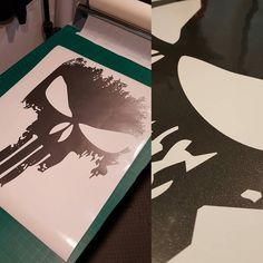 First of MANY pieces for @assault_ts new bed graphics! Can't wait to see the finished product!  http://ift.tt/1IOpqK1  #stickers #cardecals #decal #sticker #cardecal #stance #punisher #truck #trucks #wrap #wraps #notthatitworkscrap #vinyl #stickit