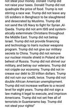 DEBRA GIFFORD (@lovemyyorkie14)   Twitter From Facebook : Keep In Mind Folks @realDonaldTrump Did 👇👇👇❗🇺🇸