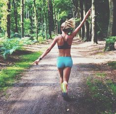 Just you and the woods | fitness inspiration motivation fitspiration health yoga pilates womenswear fashion gymgear sportswear sports wear gym gear athletic Athleisure | Bayse Activewear Basics & Essentials