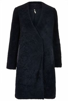 **Sheepskin Crombie Coat - The Collection Starring Kate Bosworth   - Clothing