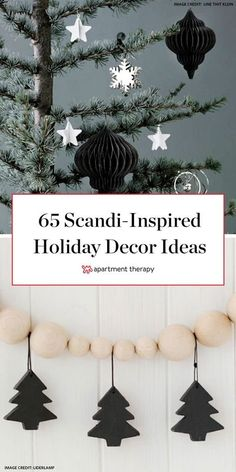 There's no better time of year to embrace Scandinavian style than during the holidays. Try these 65 Scandinavian DIY Christmas decor ideas. #ScandinavianChristmas #ScandinavianChristmasTree #ChristmasDecor #MinimalistChristmasDecor #ChristmasIdeas
