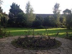 Memorial garden for photos