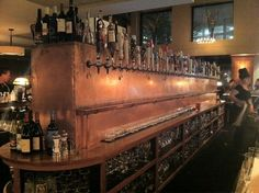 Mead Hall - Lots of beers on tap!