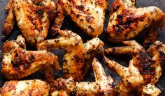 Herbed Grilled Chicken Wings Recipe | Yummly