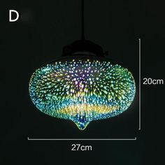 Bring style and light to your home, office or restaurant with a stunning starry sky hanging glass pendant lamp! Made from eco-friendly glass stone. Power Source: AC Voltage: 90 - Light bulbs not included. Glass Pendant Light, Pendant Light Fixtures, Ceiling Pendant, Glass Pendants, Pendant Lights, Ceiling Fixtures, Pendant Lamps, Glass Ceiling, Led Ceiling Lights