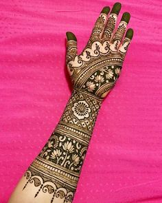 Gorgeous Indian mehndi designs for hands this wedding season